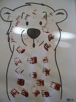 Boucle d'or et les trois ours en arts visuels