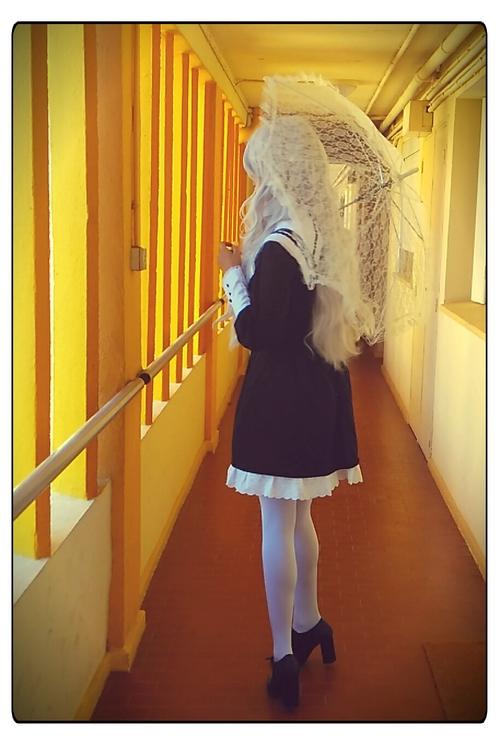 cosplay black lolita
