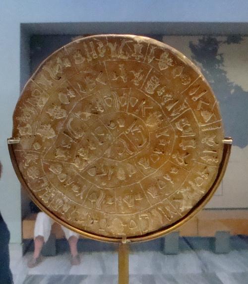 Le disque de Phaestos.