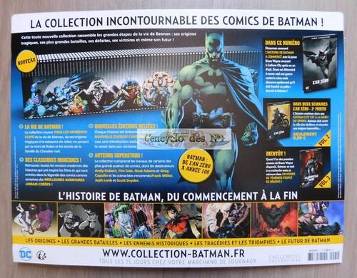 N° 1 DC comics : La légende de Batman - Lancement