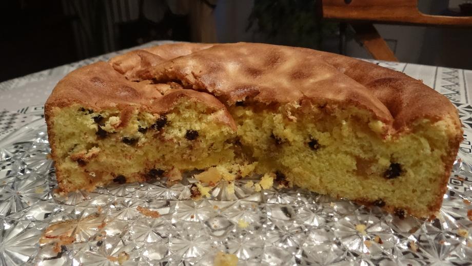 Une version légère du Gâteau de Savoie Pépites de Chocolat et à l'Orange