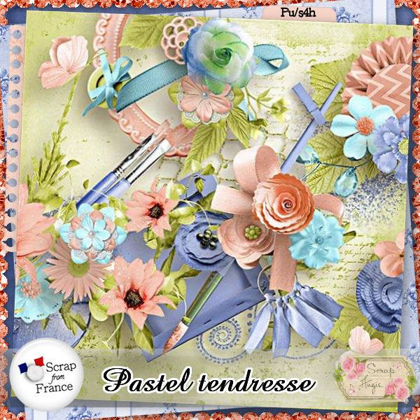 Pastel tendresse de Scrap'Angie