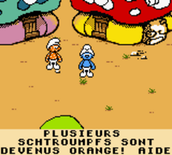 La Mission des Schtroumpfs - Gameboy color