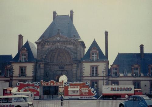 le cirque MEDRANO - Jean Richard à Fontainebleau en mai 1978 ( archives Raymond Marti)