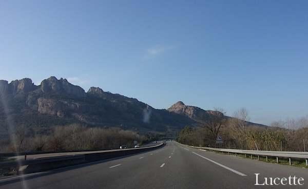 Photos prises en allant à Toulon