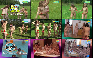 Naturist Freedom - Wood Fairies. DVD.