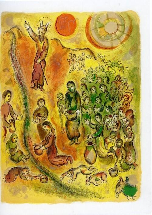 """- exposition """"Impressions"""" de Marc Chagall au Palais Lumière d'Evian"""