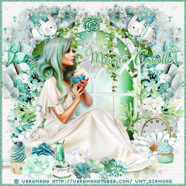 """Tutoriel """"Magic candle"""" de Liligraph chez Lili et Mumu"""
