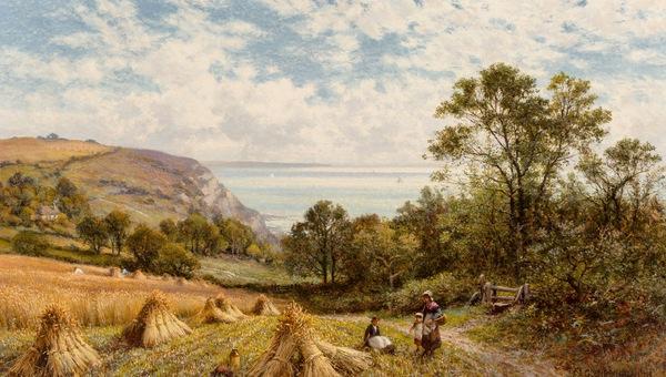 Peinture d'  Alfred Augustus Glendening