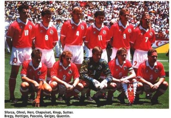 Geiger capitaine de l'équipe suisse coupe du monde 1994