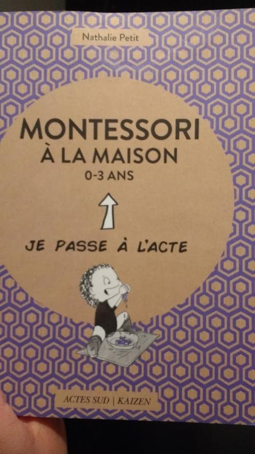 défi lecture 2/4: Montessori à la maison
