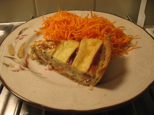 Tarte aux Endives et au Brie