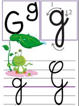 Affichage alphabet pour la classe