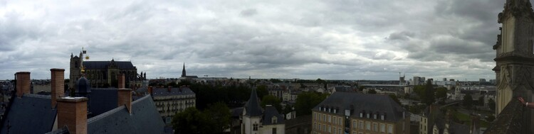 Pièces interdites dans le château de Nantes