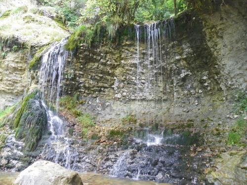 La cascade de la Doria