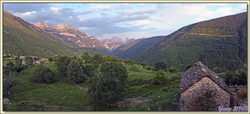 Panoramique vu de Nerin - Aragòn - Espagne (España)