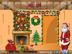 Christmas house escape