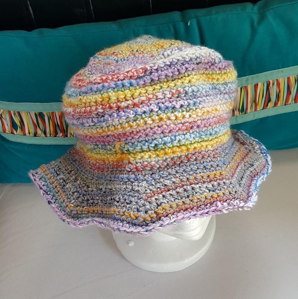 Un nouveau chapeau au crochet, pour Françoise...