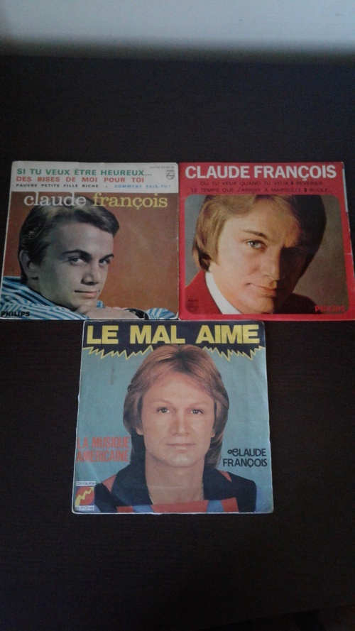 Mes nouveaux 45 tours de Claude François