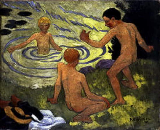 Paul Sérusier, Enfants à la barque