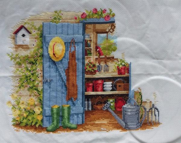 Vervaco, L'abri de jardin (Karine)