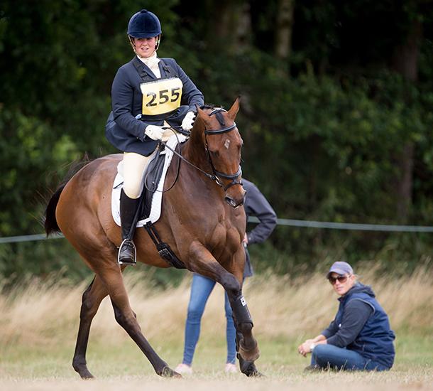 Zara et le cheval