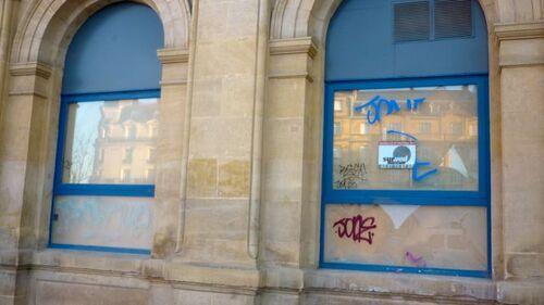 Vandalisme à l'ancienne gare
