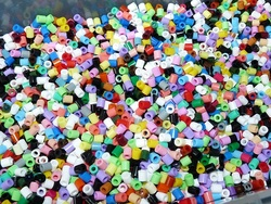Poissons d'Avril en perles Hama