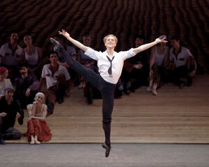 dance ballet class david hallberg  choreographer