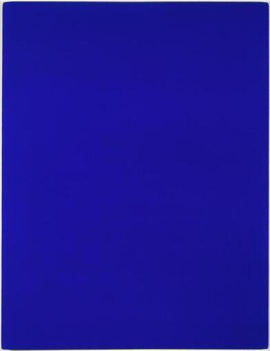 Le bleu absolu d'Yves Klein