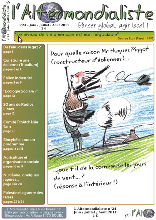 Edito du N°24 - Juin / Juillet / Août.
