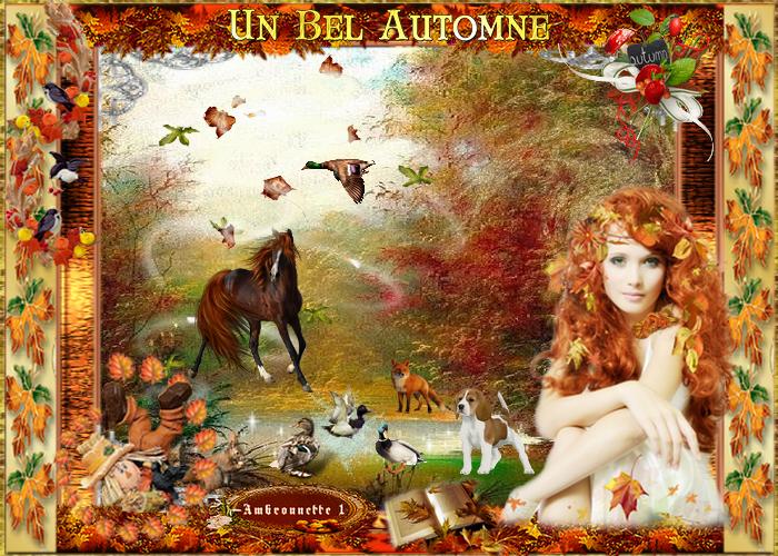 """Défi 8 """"Bel automne"""""""