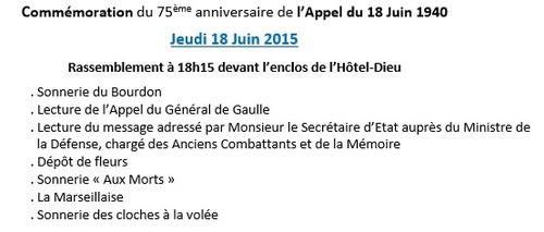 18.06.15 - Commémoration Appel du 18 Juin 1940