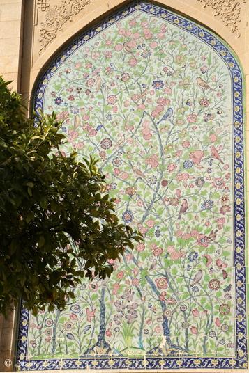 Jardin du mausolée de Hâfez, Shiraz