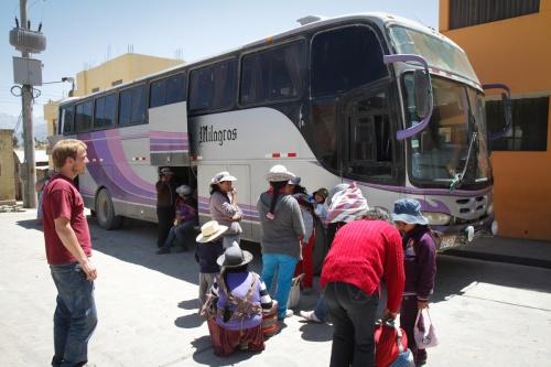 Laissez-nous vous raconter... les transports Bolivie/Pérou