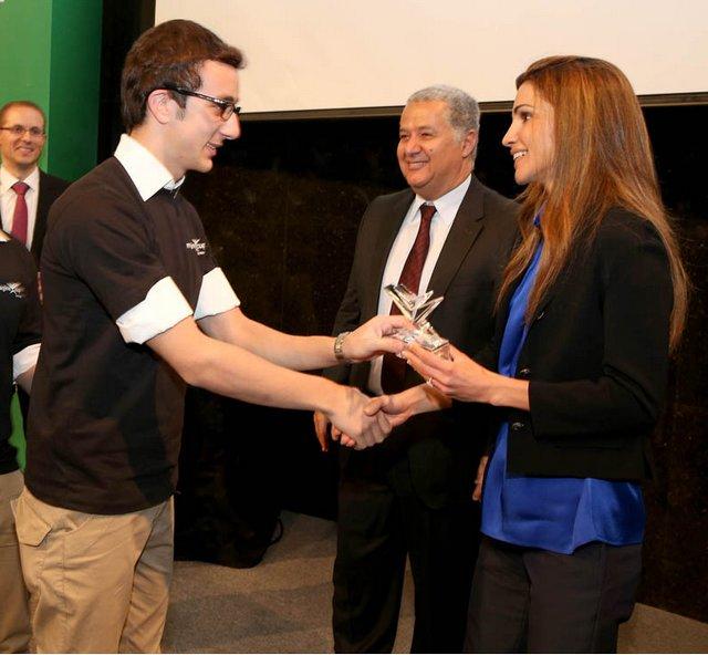Rania et Microsoft