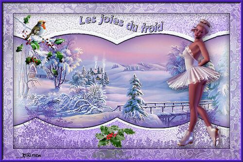* Les joies du froid *