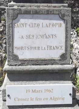 Visitons la France avec les commémorations du 19 mars 1962, aujourd'hui sur L'Ile d'Oléron ** Cliquez sur les nombreux liens de cet article qui vous feront visiter cette prestigieuse île française
