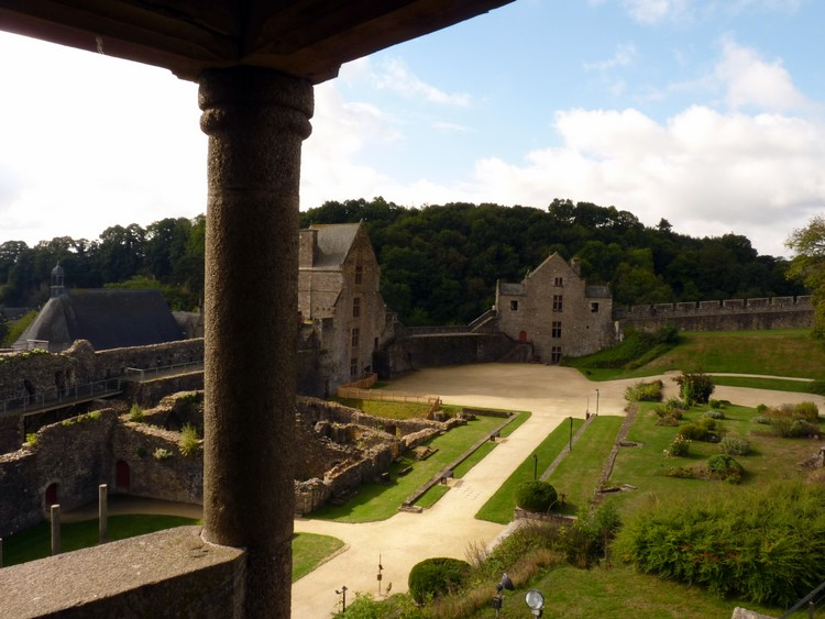 Depuis la tour Coigny