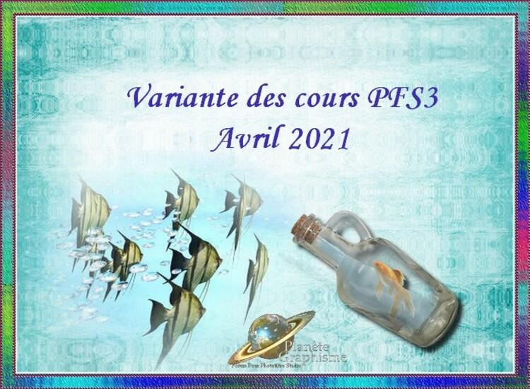 Variantes du mois d'Avril 2021