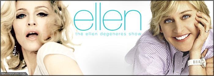 Madonna - The Ellen DeGeneres Show