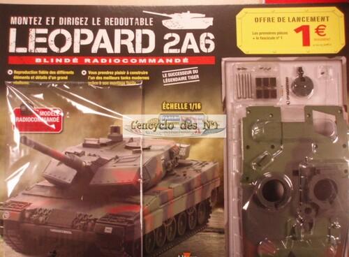 N° 1 Montez et dirigez le redoutable Leopard 2A6 - Test