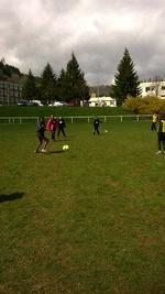 Entraînement de foot