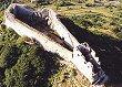 Le château  de Montségur, voir le diaporama