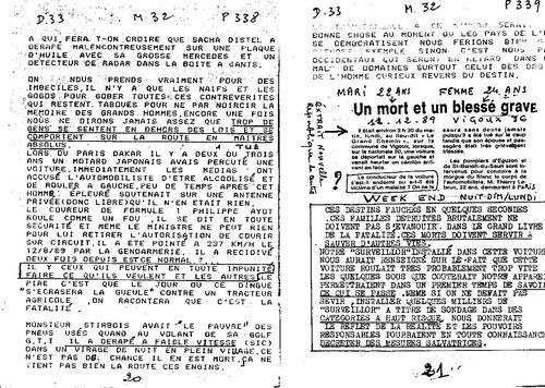 Microscope N°32 partie 2 Voite noire simplifiée SURVEILLOR