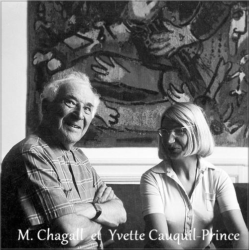 L'oeuvre tissée de Chagall