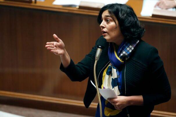 La ministre française du Travail, Myriam El Khomri, le 17 février 2016 à Paris