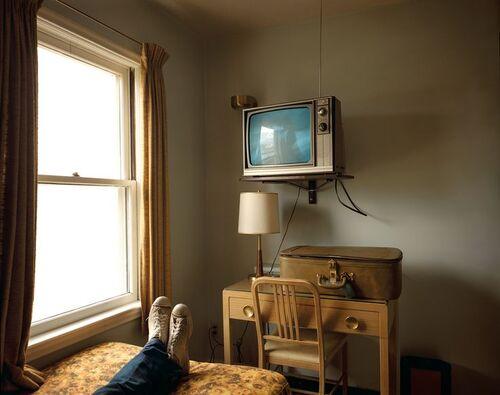 Le poste de télé