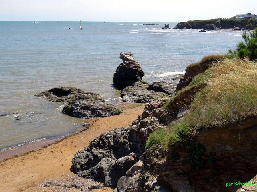 le bord de mer à Croix de Vie