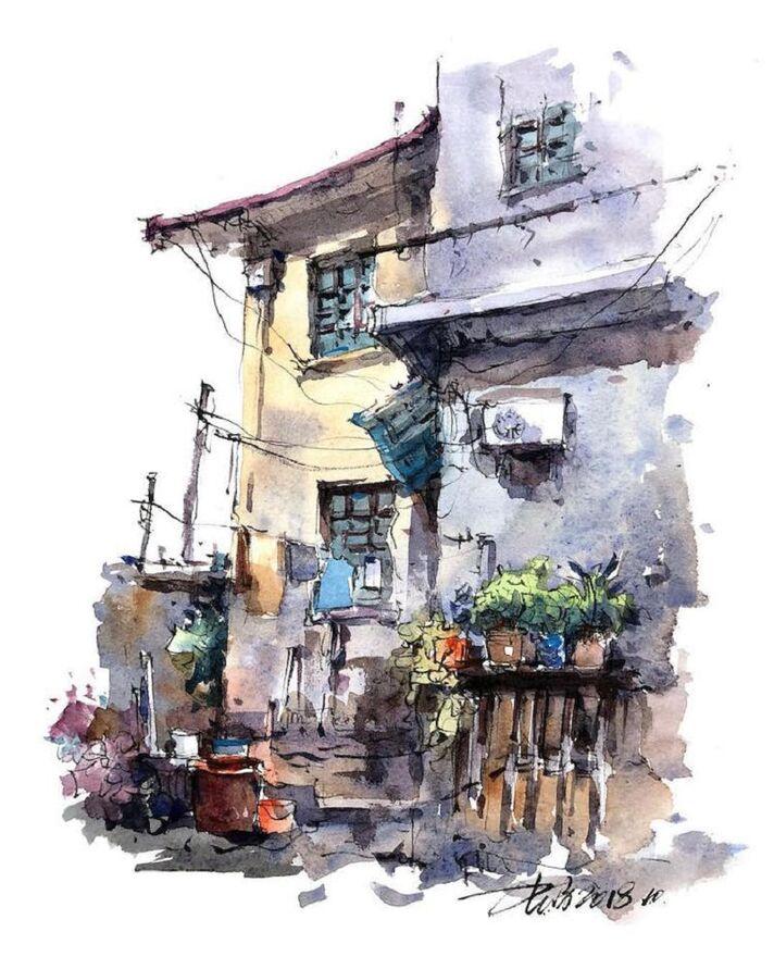 Le Charme des vieilles Villes asiatiques selon  Zhifang Shi (12)